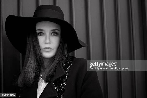 Actress Isabelle Adjani is photographed for Madame Figaro on April 4 2016 in Paris France Coat dress hat PUBLISHED IMAGE CREDIT MUST READ Dominique...