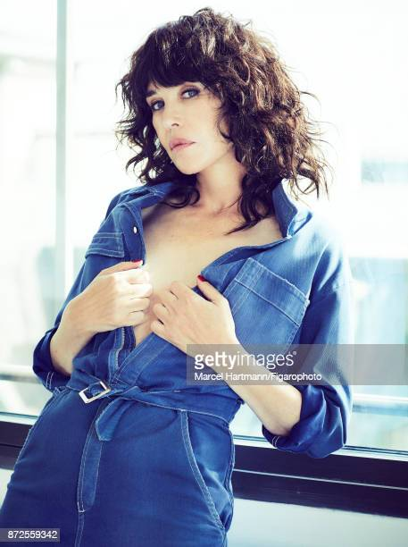 Actress Isabelle Adjani is photographed for Madame Figaro on October 4 2017 in Paris France Jumpsuit Make up by Givenchy Le Makeup COVER IMAGE CREDIT...