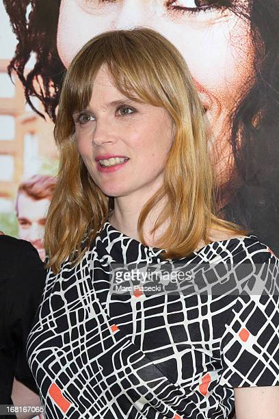 Actress Isabelle Carre attends the 'Cheba Louisa' Premiere on May 6 2013 in Paris France