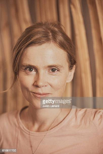 Actress Isabelle Carre is photographed for Le Film Francais on September 8 2016 in Paris France