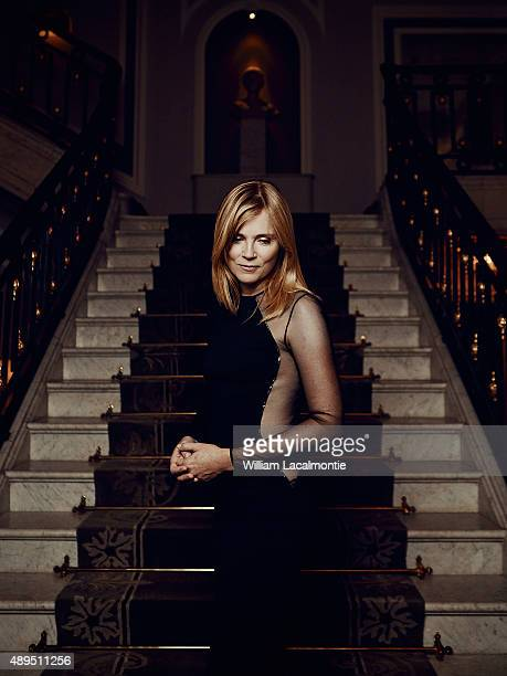 Actress Isabelle Carre is photographed for Self Assignment on September 18 2015 in San Sebastian Spain
