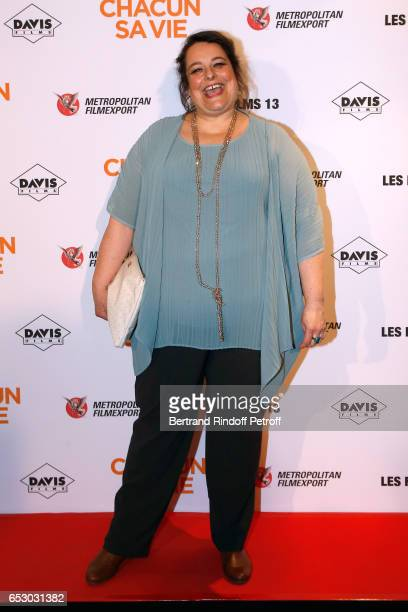 Actress Isabelle de Hertogh attends the 'Chacun sa vie' Paris Premiere at Cinema UGC Normandie on March 13 2017 in Paris France