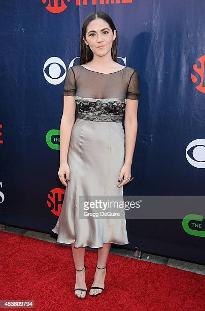 Actress Isabelle Fuhrman arrives at the CBS CW And Showtime 2015 Summer TCA Party at Pacific Design Center on August 10 2015 in West Hollywood...
