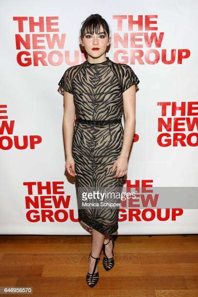 Actress Isabelle Fuhrman attends All The Fine Boys Opening Night on March 1 2017 in New York City