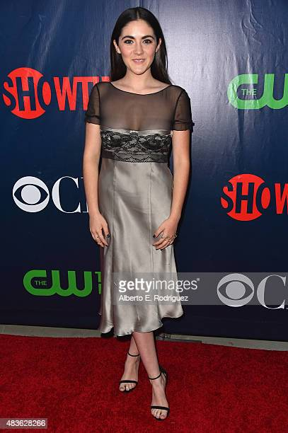 Actress Isabelle Fuhrman attends CBS' 2015 Summer TCA party at the Pacific Design Center on August 10 2015 in West Hollywood California