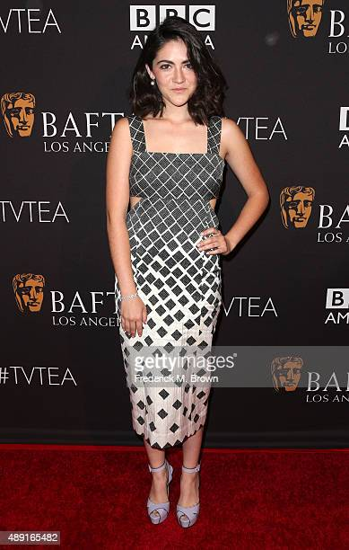 Actress Isabelle Fuhrman attends the 2015 BAFTA Los Angeles TV Tea at SLS Hotel on September 19 2015 in Beverly Hills California