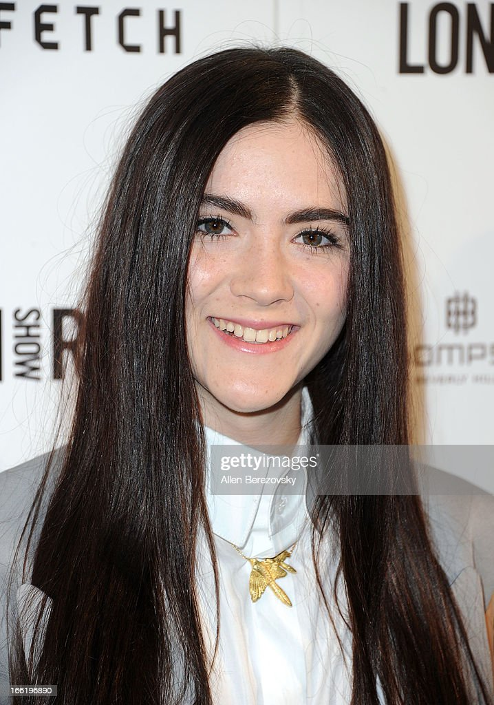 Actress Isabelle Fuhrman attends the British Fashion Council's International Showcasing Initiative 'London Show Rooms LA' at Thompson Hotel on April 9, 2013 in Beverly Hills, California.