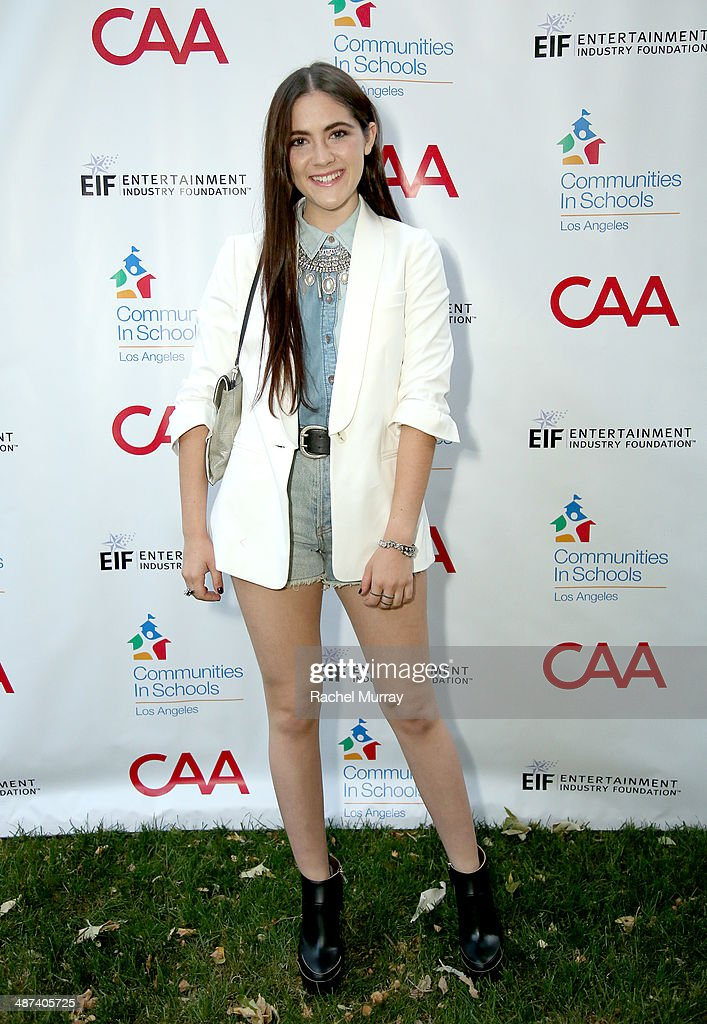 Actress Isabelle Fuhrman attends the Communities In Schools of Los Angeles Gala 2014, Presented By CAA And EIF on April 29, 2014 in Los Angeles, California.