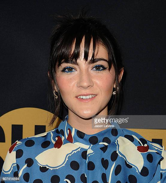 Actress Isabelle Fuhrman attends the Showtime Emmy eve party at Sunset Tower on September 17 2016 in West Hollywood California