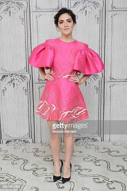 Actress Isabelle Fuhrman discusses her upcoming film 'Dear Eleanor' during the AOL Build Speaker Series at AOL Studios In New York on July 7 2016 in...