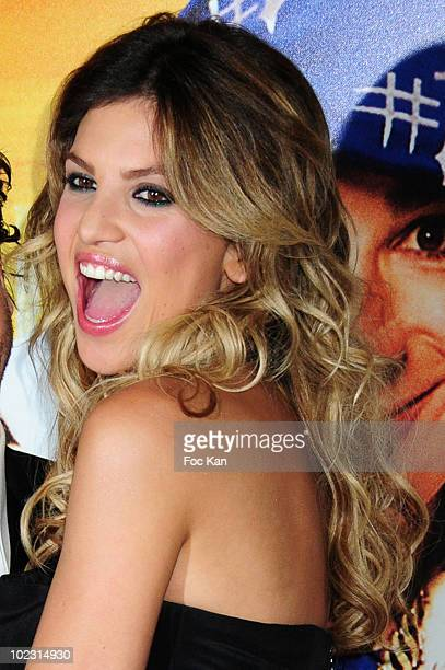 Actress Isabelle Funaro attends the 'Fatal' Paris Premiere at Le Grand Rex on June 14 2010 in Paris France