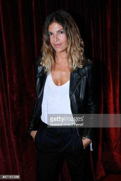 Actress Isabelle Funaro attends the Reopening of the Hotel Barriere Le Fouquet's Paris decorated by Jacques Garcia at Hotel Barriere Le Fouquet's...