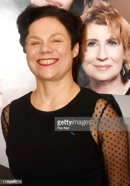 Actress Isabelle Gibbal Hardy attends Pygmalionnes Screening at Assemblee Nationale on January 14 2020 in Paris France