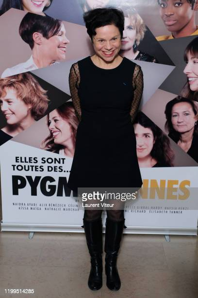 Actress Isabelle Gibbal Hardy attends the Pygmalionnes Screening At Assemblee Nationale on January 14 2020 in Paris France