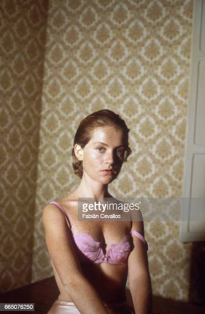 Actress Isabelle Huppert appears in the 1983 Italian film Storia di Piera Directed by Marco Ferreri and based on the story by Piera Degli Esposti the...