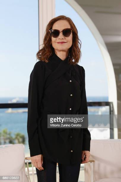Actress Isabelle Huppert attends Kering Talks Women In Motion At The 70th Cannes Film Festival at Hotel Majestic on May 19, 2017 in Cannes, France.