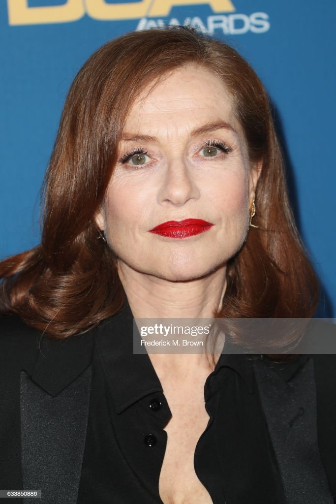Actress Isabelle Huppert attends the 69th Annual Directors Guild of America Awards at The Beverly Hilton Hotel on February 4, 2017 in Beverly Hills, California.