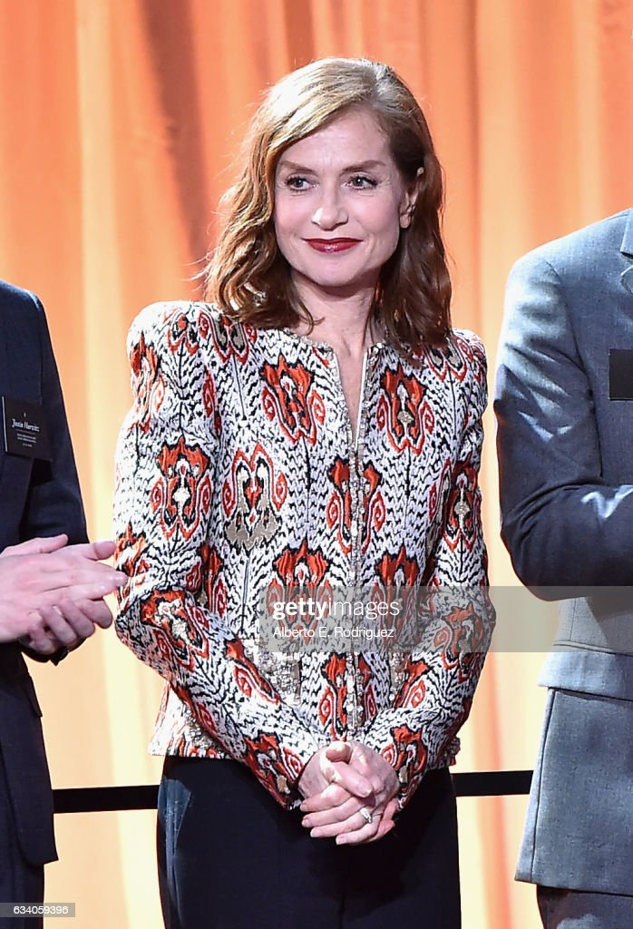 Actress Isabelle Huppert attends the 89th Annual Academy Awards Nominee Luncheon at The Beverly Hilton Hotel on February 6, 2017 in Beverly Hills, California.