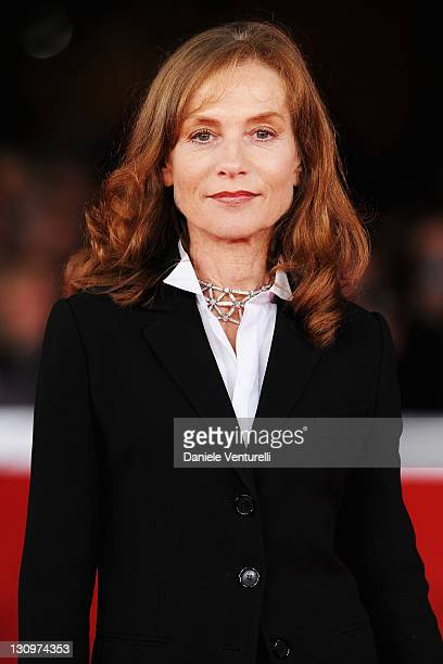 Actress Isabelle Huppert attends the 'Mon Pire Cauchemar' Premiere during the 6th International Rome Film Festival at Auditorium Parco Della Musica...