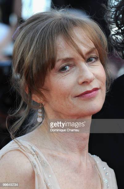 Actress Isabelle Huppert attends the premiere of 'Biutiful' held at the Palais des Festivals during the 63rd Annual International Cannes Film...