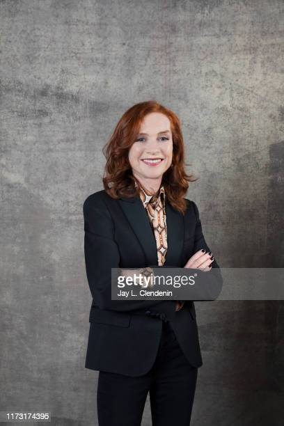 Actress Isabelle Huppert from 'Frankie' is photographed for Los Angeles Times on September 9, 2019 at the Toronto International Film Festival in...