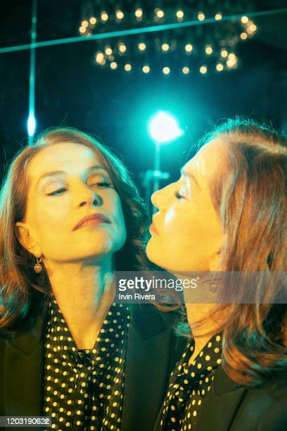 Actress Isabelle Huppert from 'Frankie' is photographed for the Wrap Magazine on September 9 2019 in Toronto Canada PUBLISHED IMAGE