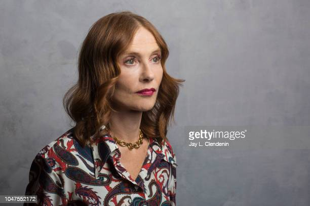 Actress Isabelle Huppert from 'Greta' is photographed for Los Angeles Times on September 7 2018 in Toronto Ontario PUBLISHED IMAGE CREDIT MUST READ...