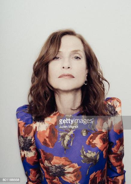 Actress Isabelle Huppert is photographed for Grazia Magazine on May 24 2017 in Cannes France
