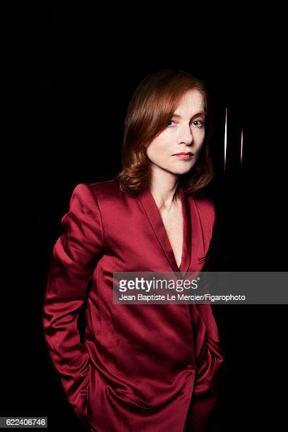 Actress Isabelle Huppert is photographed for Madame Figaro on September 8 2016 at the Toronto Film Festival in Toronto Canada PUBLISHED IMAGE CREDIT...