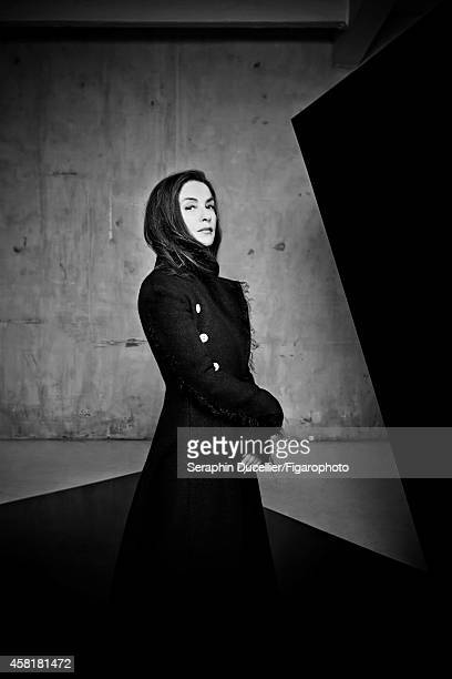 Actress Isabelle Huppert is photographed for Madame Figaro on June 25 2014 in Paris France Coat PUBLISHED IMAGE CREDIT MUST READ Seraphin...
