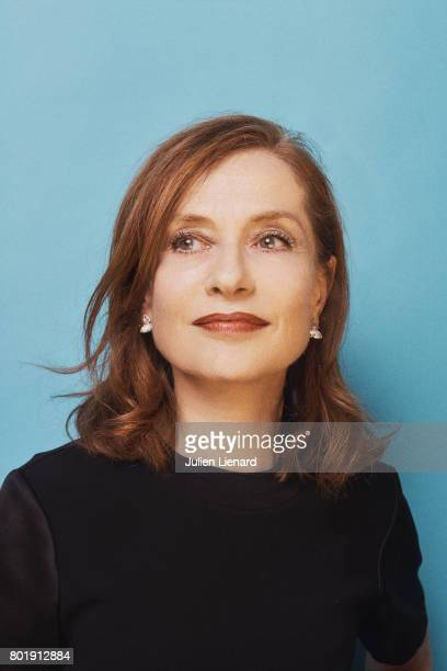 Actress Isabelle Huppert is photographed for Self Assignment on February 2 2017 in Paris France