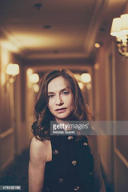 Actress Isabelle Huppert is photographed for Self Assignment on May 15 2015 in Cannes France