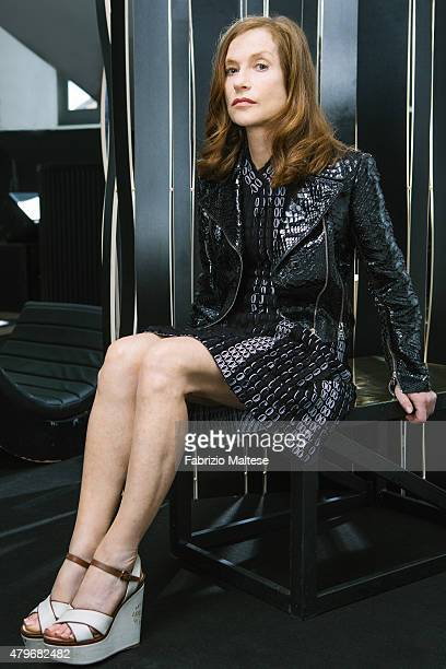 Actress Isabelle Huppert is photographed for The Hollywood Reporter on May 15 2015 in Cannes France