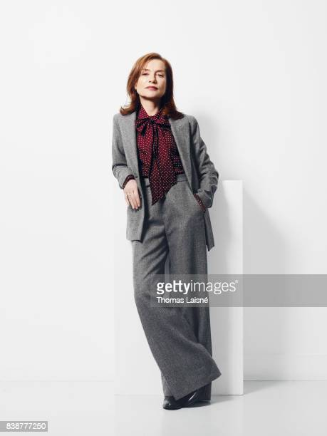 Actress Isabelle Huppert is photographed on November 3 2016 in Paris France