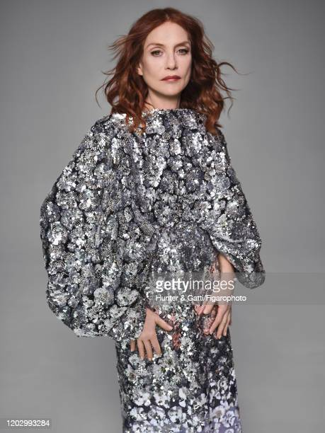 Actress Isabelle Huppert poses for a portrait on January 23 2020 in Paris France