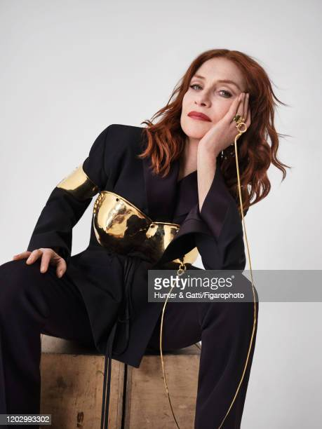 Actress Isabelle Huppert poses for a portrait on January 23, 2020 in Paris, France.