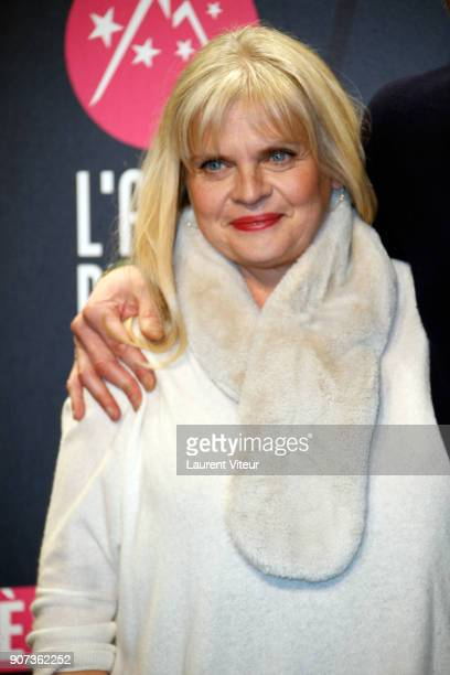 Actress Isabelle Nanty attends 'Les Tuches 3 Liberte Egalite FraterniTuche' Premiere during the 21st Alpe D'Huez Comedy Film Festival on January 19...