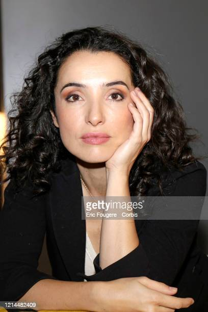 Actress Isabelle Vitari poses during a portrait session in Paris France on
