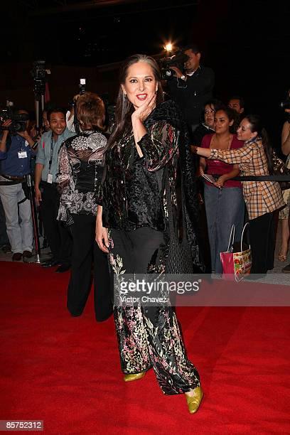 Actress Isaura Espinoza attends the 2009 Ariel 51 awards at Auditorio Nacional on March 31 2009 in Mexico City Mexico