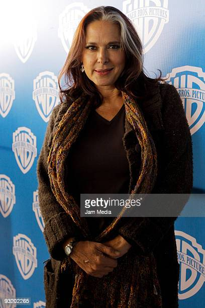 Actress Isaura Espinoza during a press conference to announce the beginning of the filming of the movie 'Viento en Contra' at Kansas 20 on November...