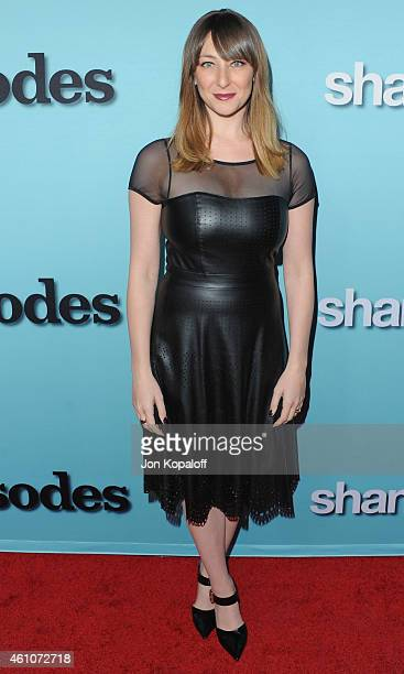 """Actress Isidora Goreshter arrives at Showtime Celebrates All-New Seasons Of """"Shameless,"""" """"House Of Lies"""" And """"Episodes"""" at Cecconi's Restaurant on..."""
