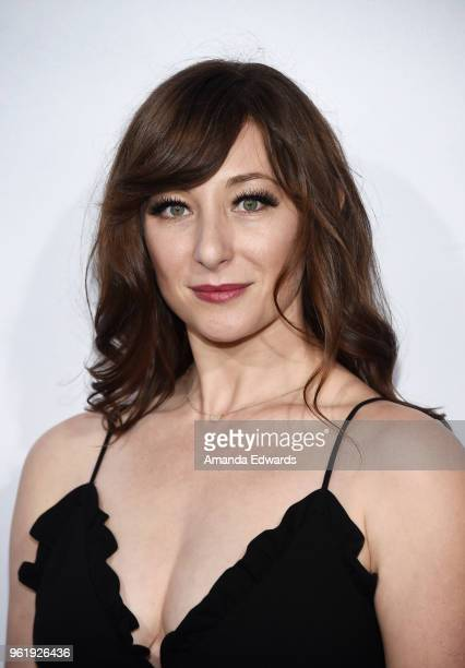 Actress Isidora Goreshter arrives at the premiere of STX Films' 'Adrift' at the Regal LA Live Stadium 14 on May 23 2018 in Los Angeles California
