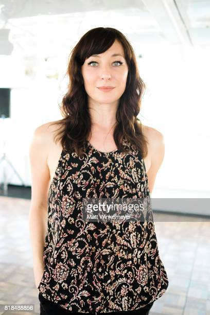 Actress Isidora Goreshter attends Steve Howey's Surprise 40th Birthday Party on July 16 2017 in Los Angeles California
