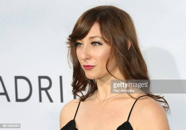 Actress Isidora Goreshter attends the premiere of STX Films' 'Adrift' at Regal LA Live Stadium 14 on May 23 2018 in Los Angeles California