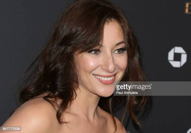 Actress Isidora Goreshter attends the Television Academy event honoring Emmy nominated performers at The Wallis Annenberg Center for the Performing...