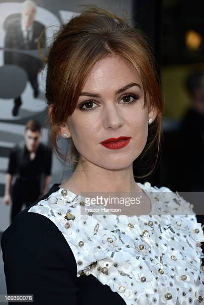 Actress Isla Fisher arrives at the Screening Of Summit Entertainment's Now You See Me at ArcLight Hollywood on May 23 2013 in Hollywood California