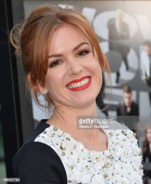 Actress Isla Fisher attends a special screening of Summit Entertainment's Now You See Me at the ArcLight Theaters Hollywood on May 23 2013 in...