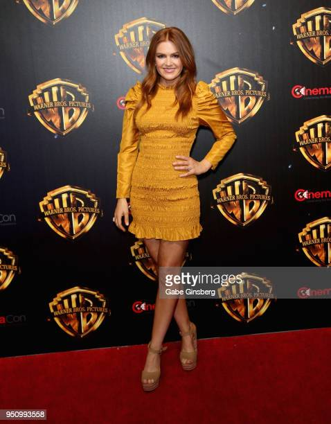Actress Isla Fisher attends CinemaCon 2018 Warner Bros Pictures Invites You to The Big Picture an Exclusive Presentation of our Upcoming Slate at The...