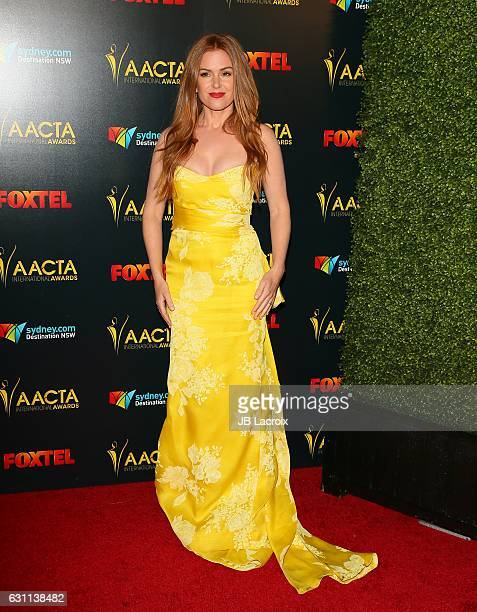 Actress Isla Fisher attends the 6th AACTA International Awards on January 6 2017 in Los Angeles California