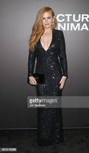 Actress Isla Fisher attends the 'Nocturnal Animals' New York premiere at The Paris Theatre on November 17 2016 in New York City